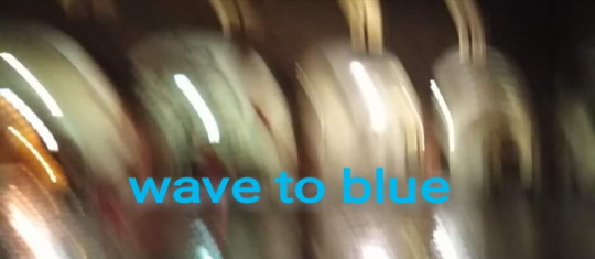 wave to blue