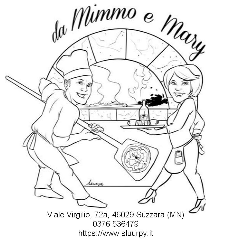 Logo pizzeria Mimmo e Mary
